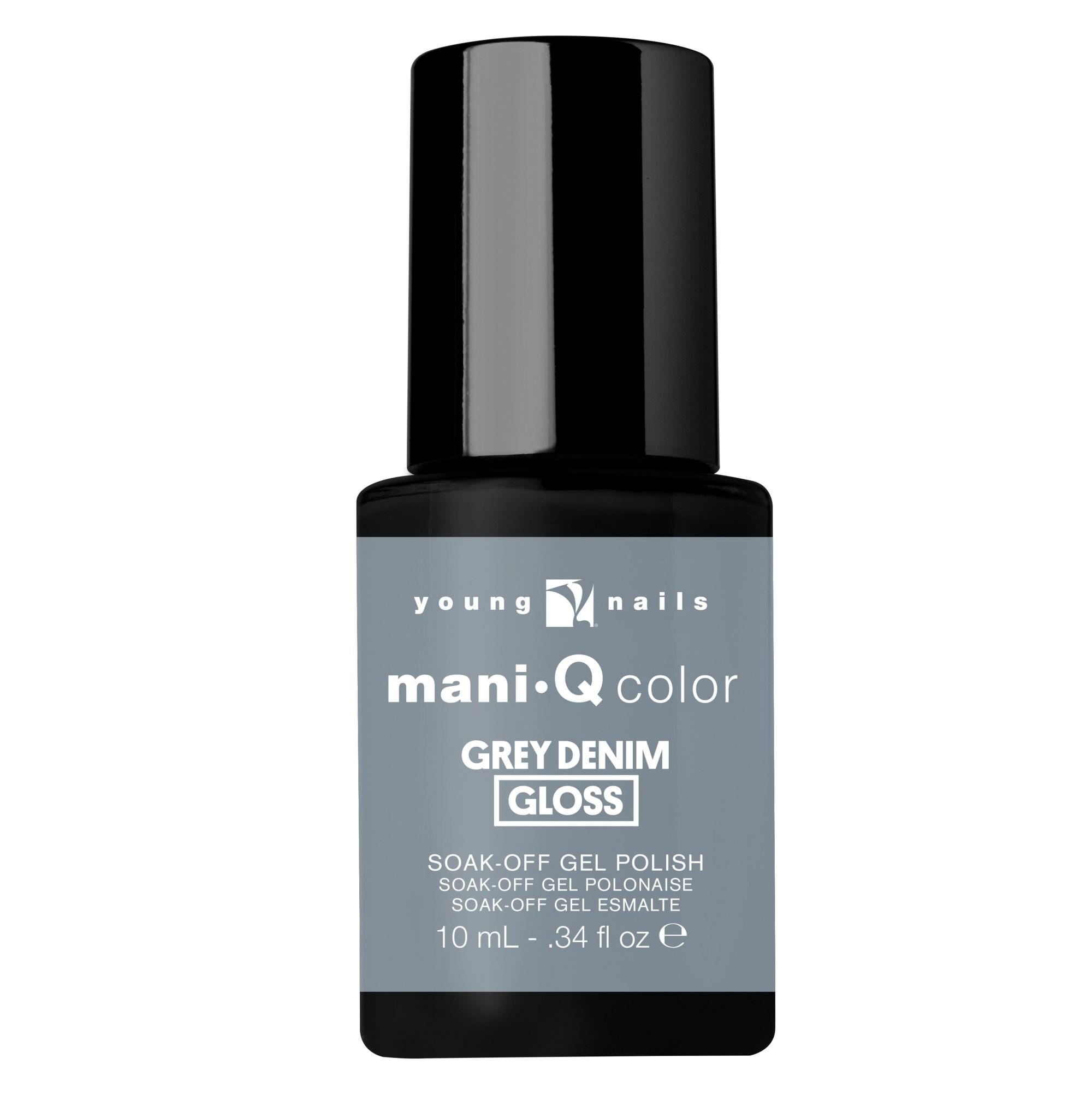 maniQ Grey Denim